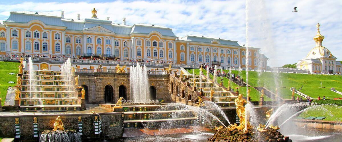 Rusya'da Mutlaka Görülmesi Gereken Yerler Peterhof Saray