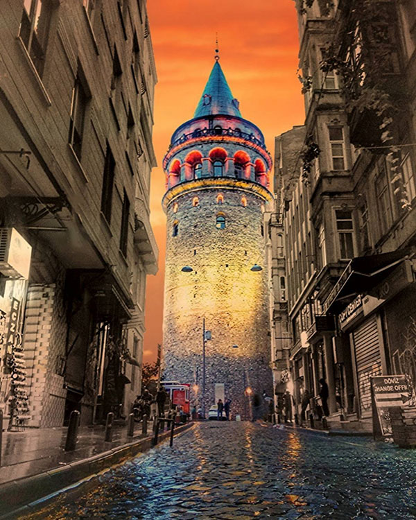 Incoming galata kulesi