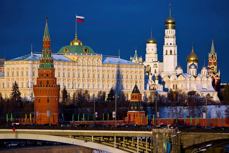 Kremlin Sarayı Rusya  Rusya'da Mutlaka Görülmesi Gereken Yerler kremlin moskova